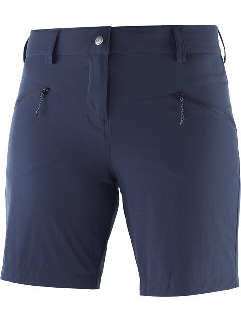 Salomon Wayfarer LT - Shorts Femme - bleu